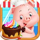 小猪猪彩虹蛋糕屋