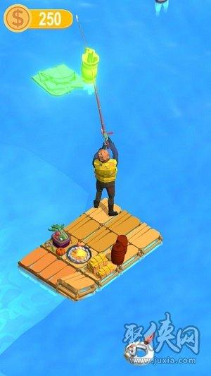 木筏求生小浪