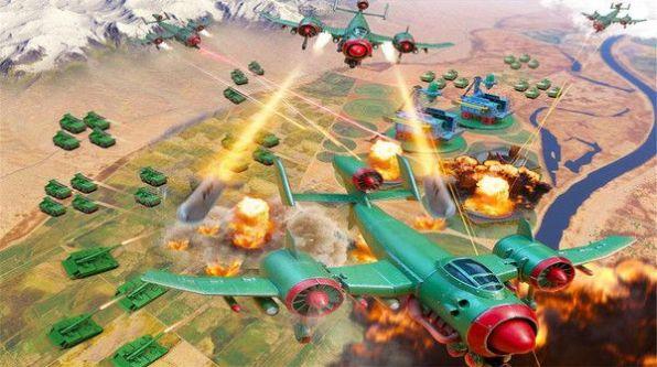 玩具绿色兵团截图