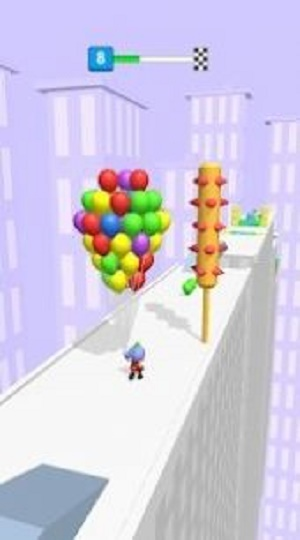 收集气球的男孩截图