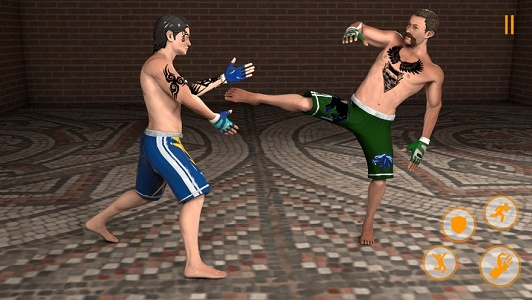 出色的跆拳道格斗截图