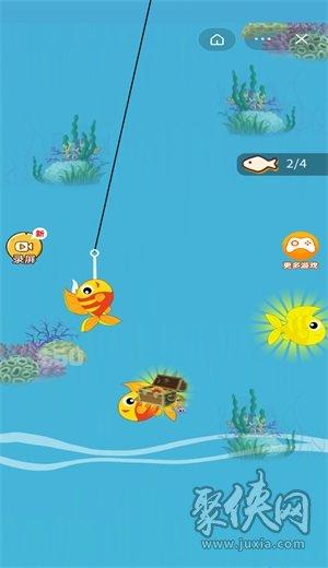 加菲猫钓鱼