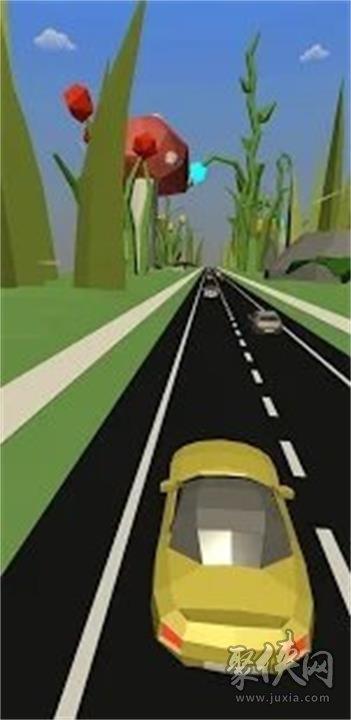 黄色私家车竞速