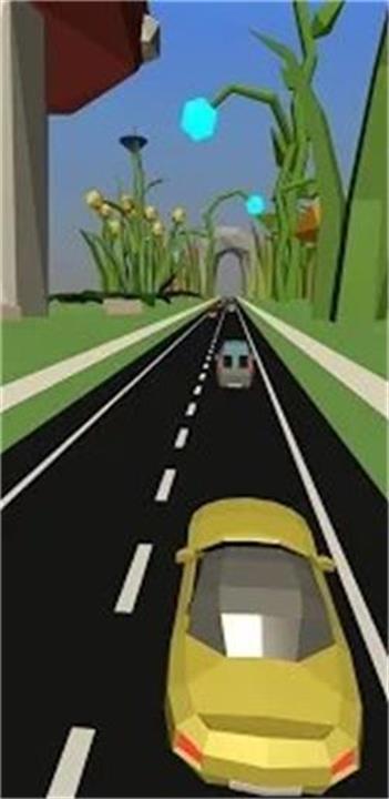 黄色私家车竞速截图