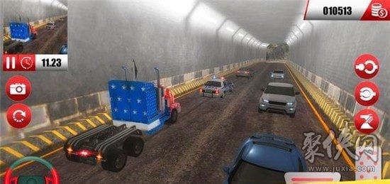美国卡车货运停车模拟器
