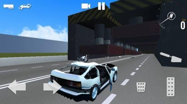 车祸模拟器真实的汽车损坏事故3D截图