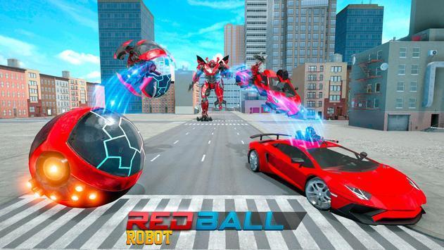 未来派红球机器人汽车截图