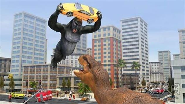 城市恐龙猎杀