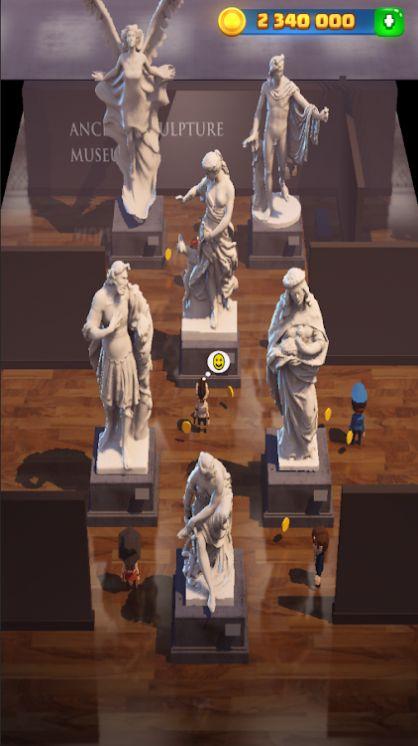 爆炸拼图博物馆建筑截图