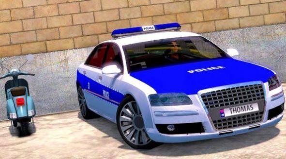 高级警车竞速