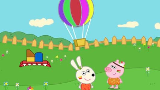 兔宝宝逛游乐园截图