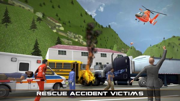 直升机救援模拟器3D截图