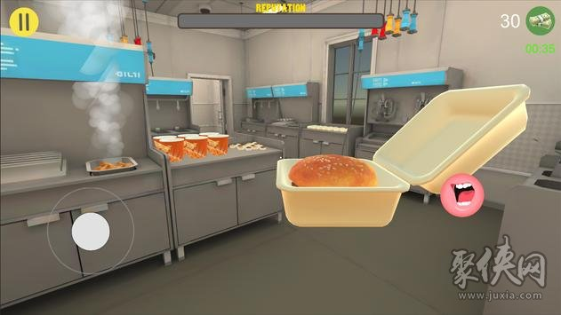 快餐收银员3D