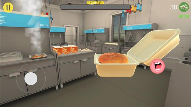 快餐收银员3D截图
