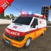 救援救护车紧急情况