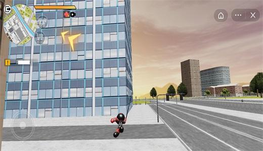 火柴人超级蜘蛛英雄截图