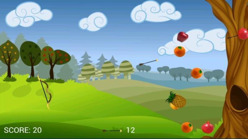 水果射箭截图