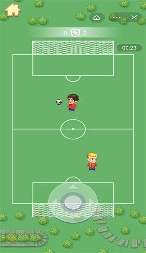 踢球对战截图