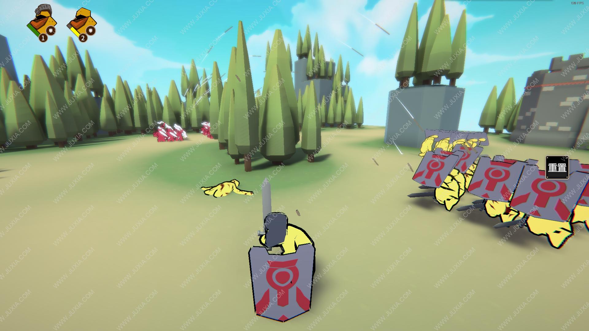 超逼真的攻城模拟器游戏第一部分攻略 第五关攻略详解