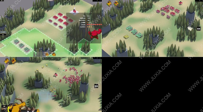 超逼真的攻城模拟器攻略图文第二部分 怎么使用正确的战术