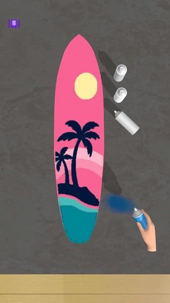 制作冲浪板截图