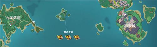 原神稻妻岛屿数量有多少个 稻妻地图岛屿详解