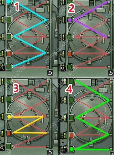 逃脱恐怖潜水艇攻略第五章怎么过 大门的密码是多少