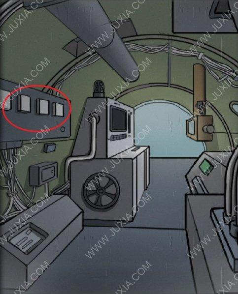 逃脱恐怖潜水艇攻略第十一章怎么过 控制潜水艇通关游戏