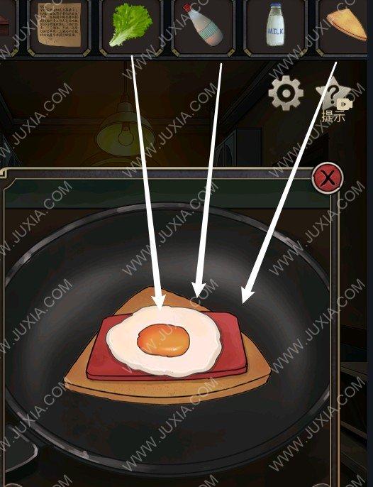 时之心攻略第二章家怎么过 三明治怎么做