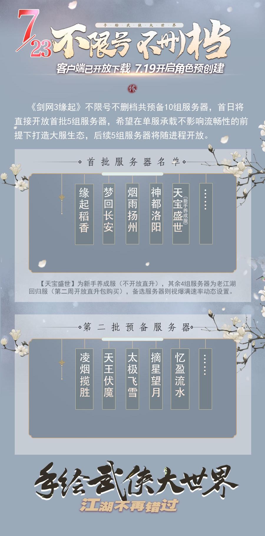 周深戏腔吟唱直击心灵《剑网3缘起》主题曲《江湖缘起》全网上线