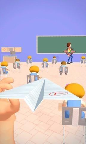 飞向老师的纸飞机