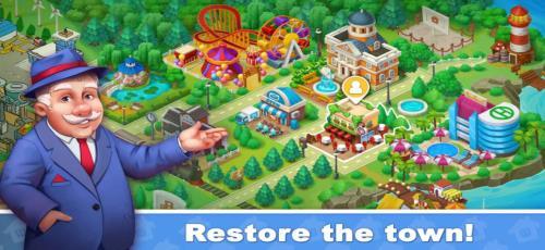 城镇爆炸城市修复