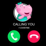 小猪佩奇来电话