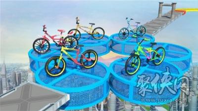 职业特技自行车