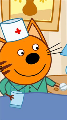 动物医院小猫截图