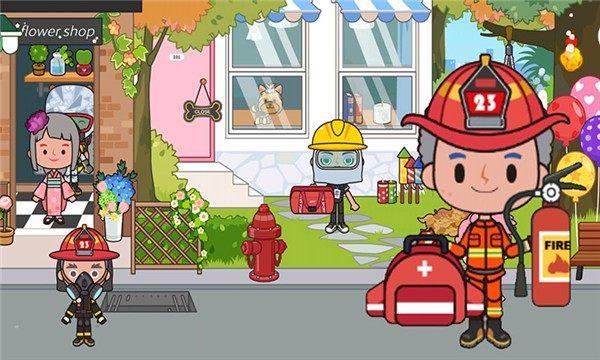 托卡王国消防员截图