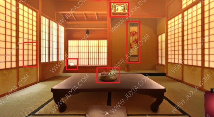四目神攻略第一章四目神社 房间里要做什么