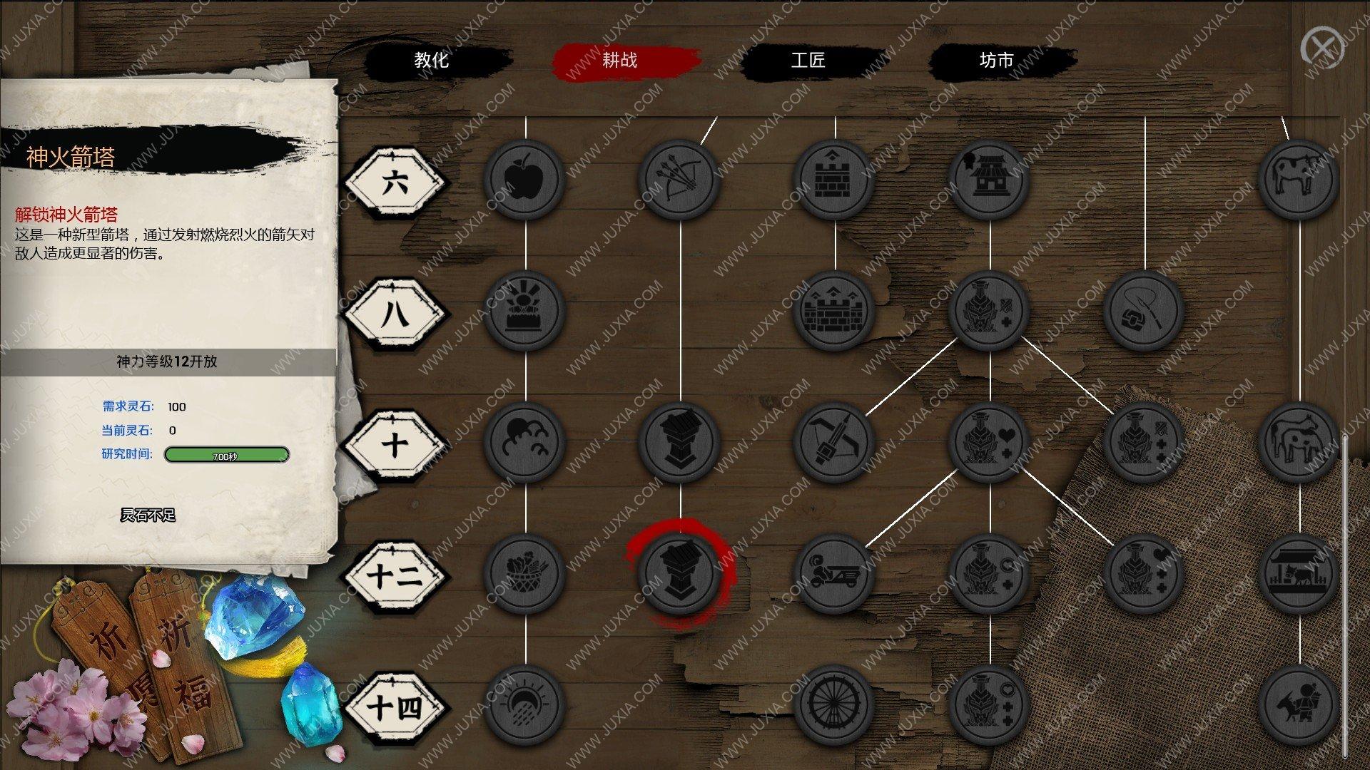 天神镇攻略防御建筑升级篇 神火箭塔攻击力有多少