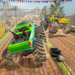 沙漠怪兽卡车赛车特技