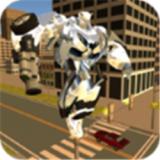 城市变形机器人英雄