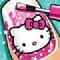 凯蒂猫美甲日记