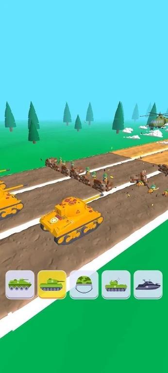 軍事變換3D