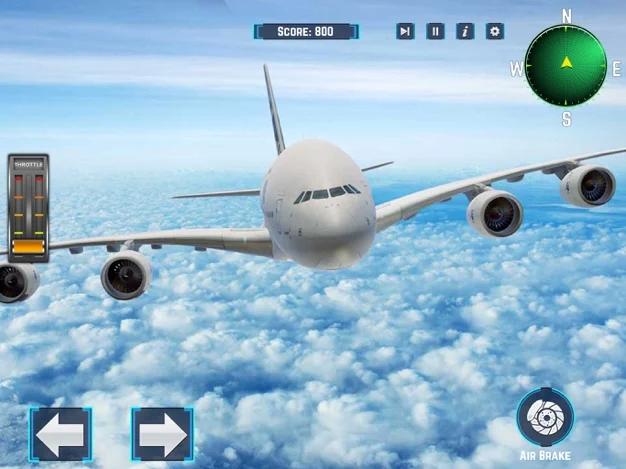 乘客飛機航班模擬