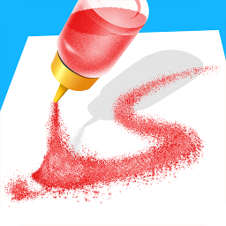 沙子畫畫3D
